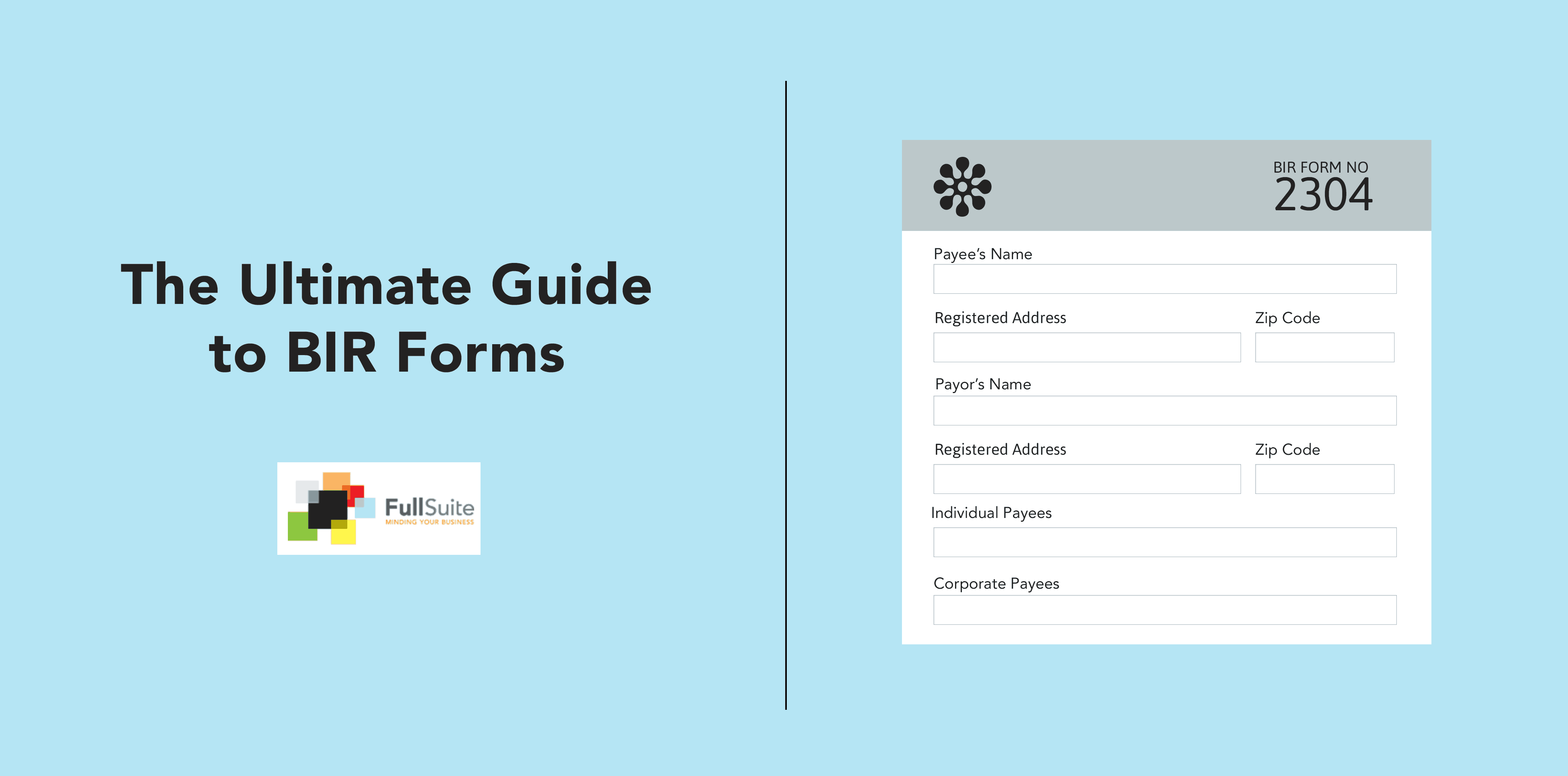 The Ultimate Guide to BIR Forms