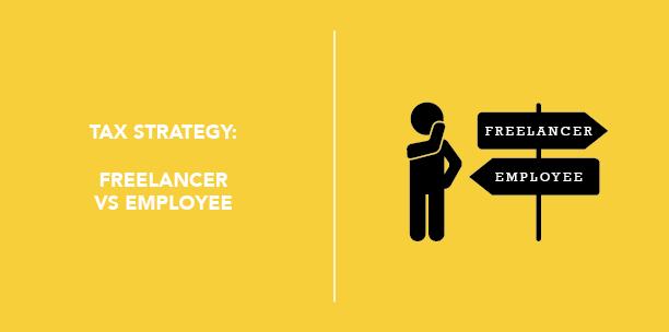 Tax Strategy: Freelancer vs. Employee